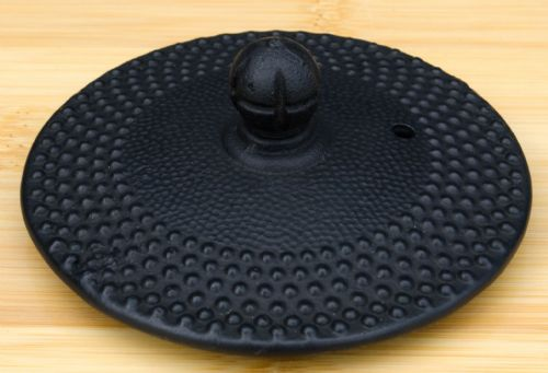 Hobnail Arare 1.0L -  Lid for Cast Iron black hobnail tea pot – 8cm diameter